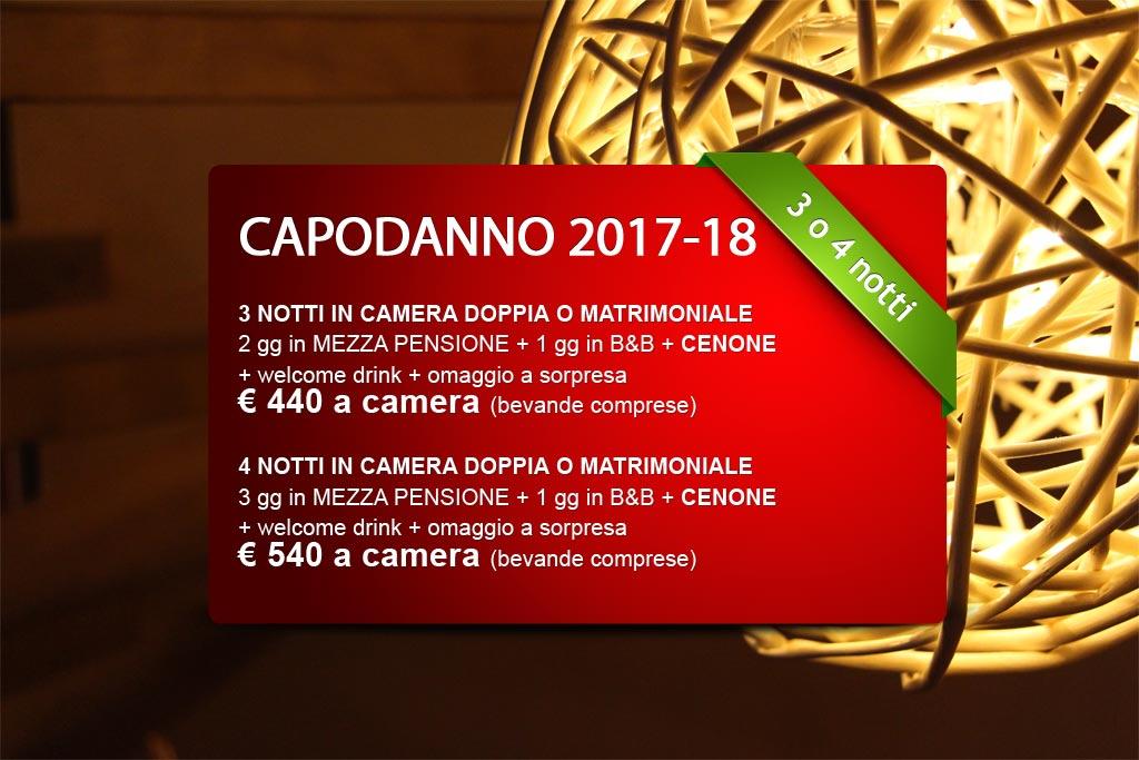 Approfitta di questa offerta speciale per Capodanno 2017-2018